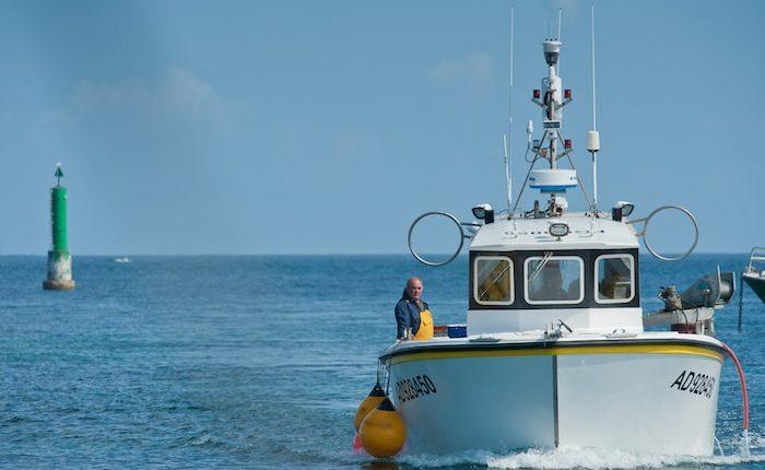 pêche, sortie en mer